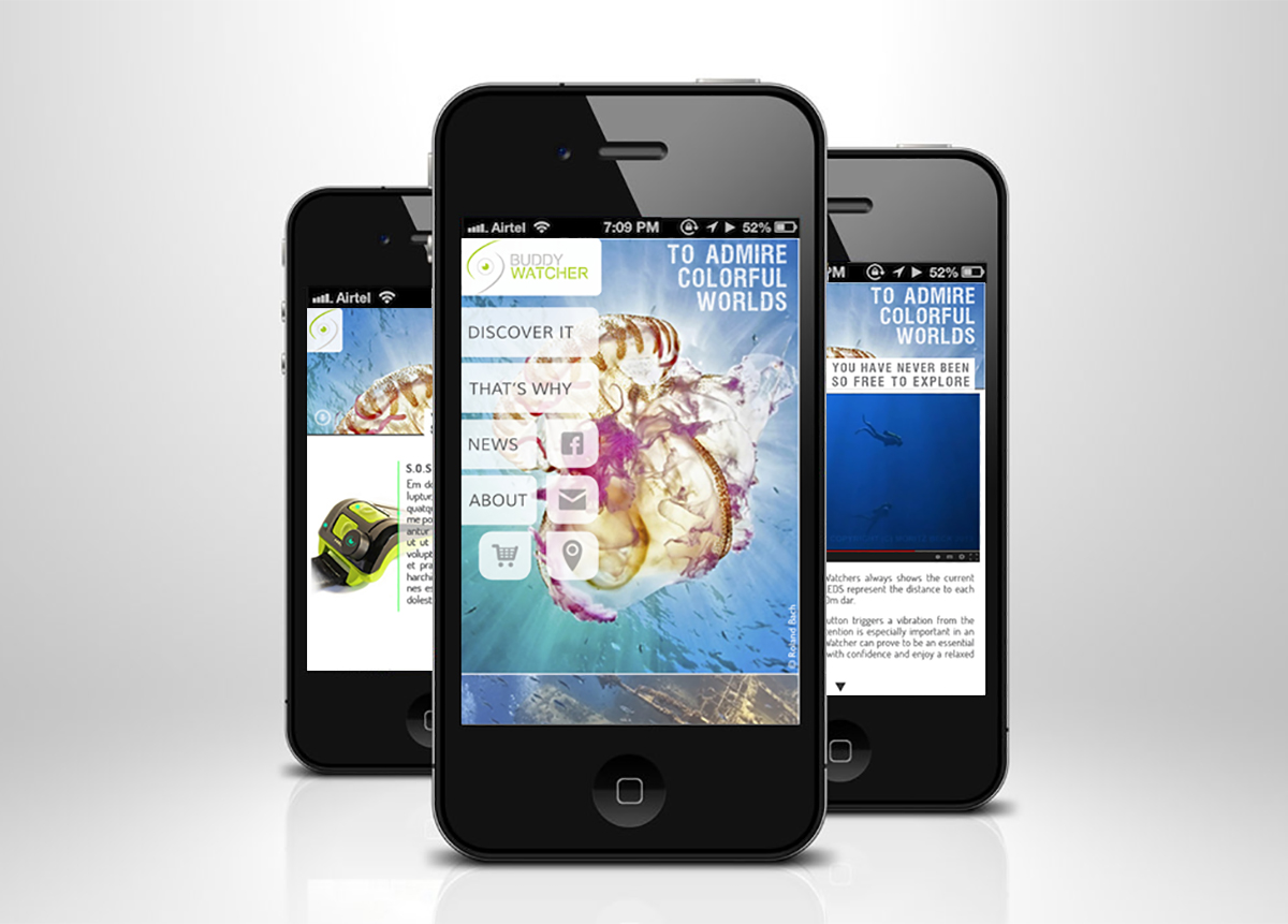 Buddy Wathcer Responsive Web Mobile Devices