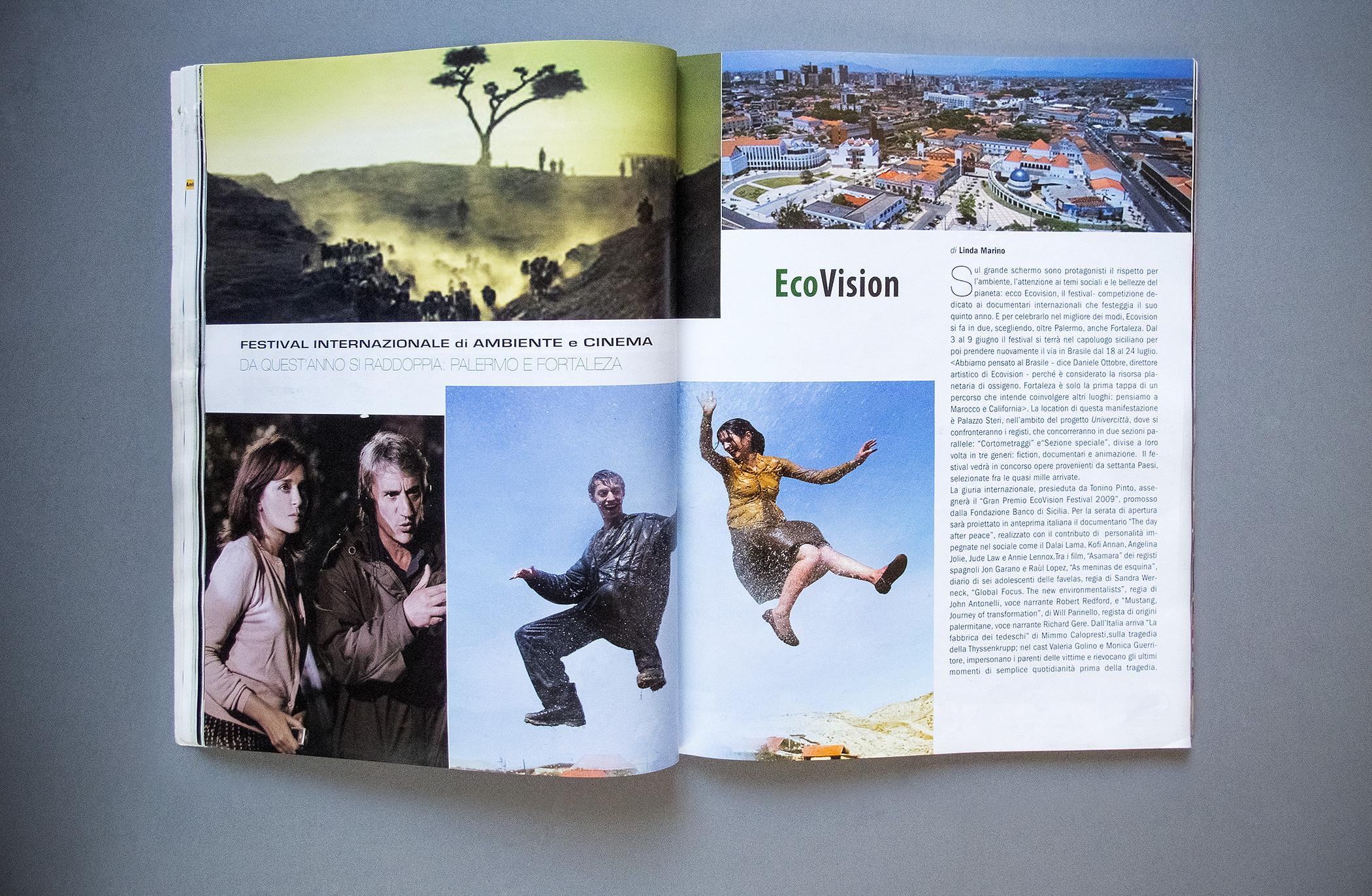 Anteprima Magazine Pagination Ecovision