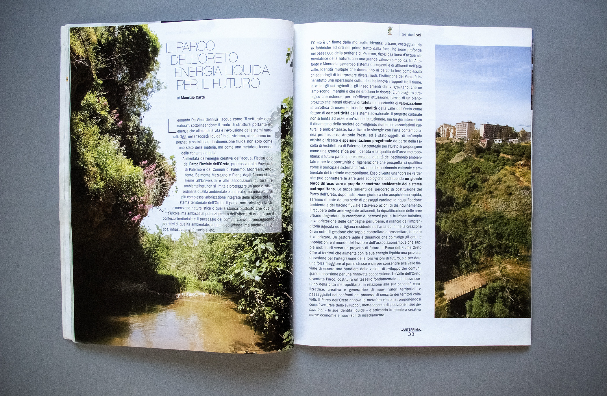 Anteprima Magazine Pagination Parco