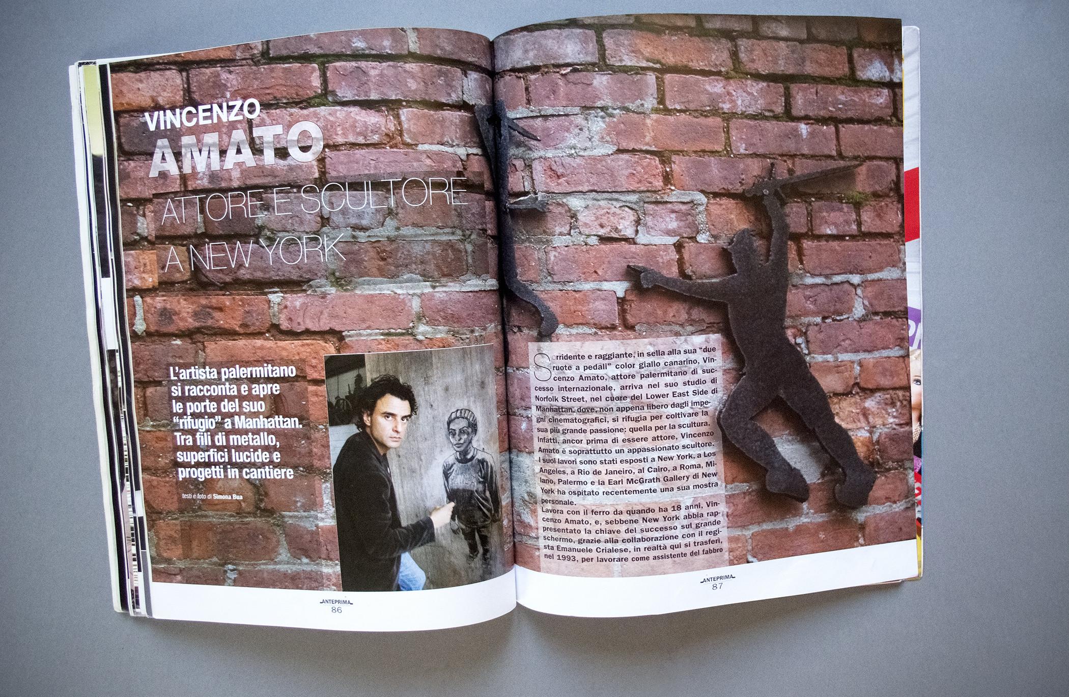 Anteprima Magazine Pagination Vincenzo Adamo
